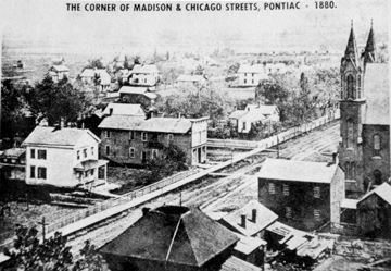 A historical photo of Madison Chicago