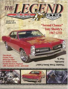 Legend magazine cover