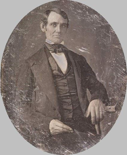 First known photo of Abraham Lincoln taken in 1846