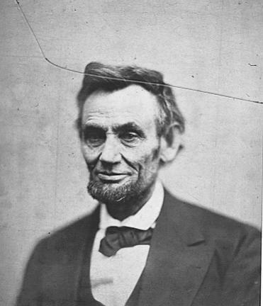 Last known portrait of Lincoln taken April 10, 1865