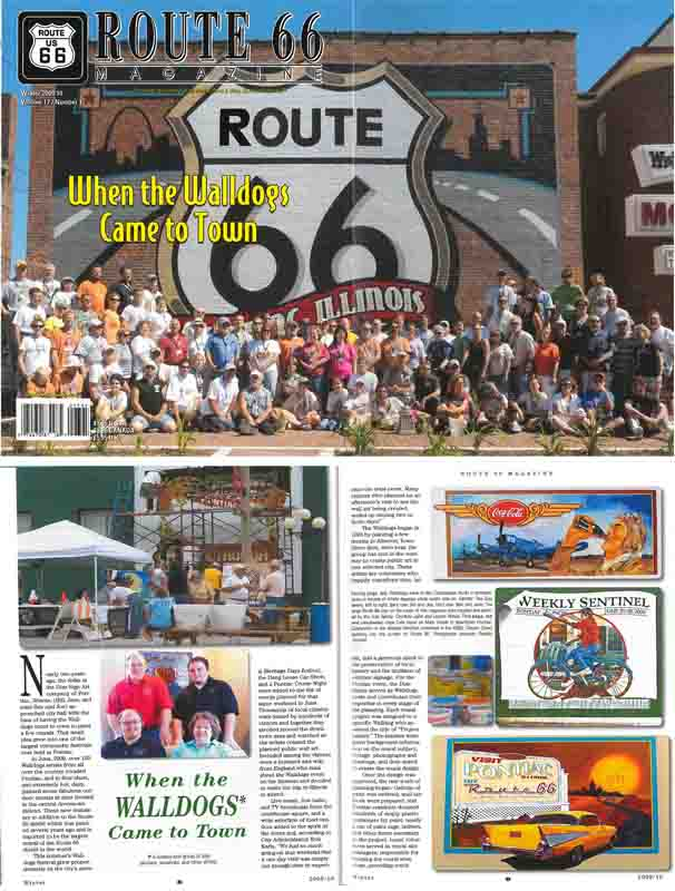 Route 66 Magazine Winter 2009