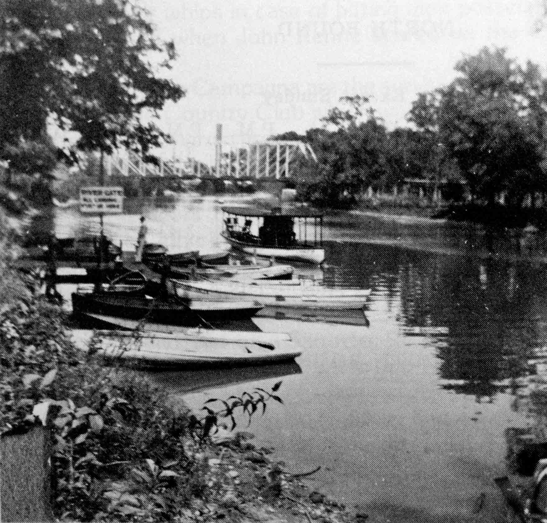 Boats On Vermilion River