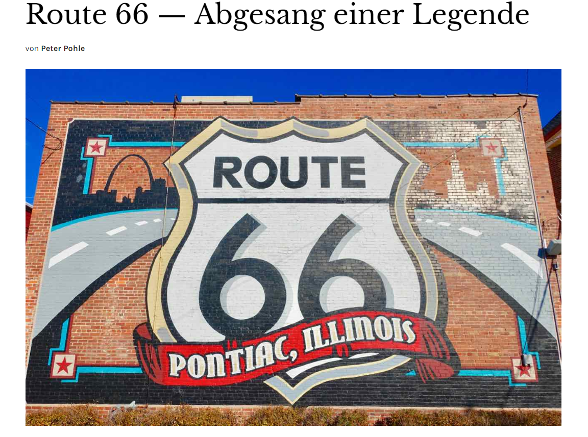 Route 66 Shield Mural