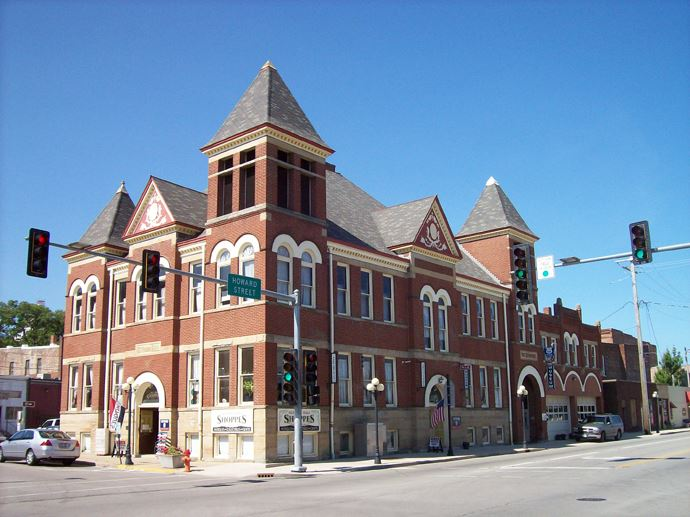 Exterior view of Museum Complex - Old City Hall & Old Fire Department Building