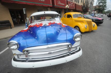 Highly decorated Cars on Display