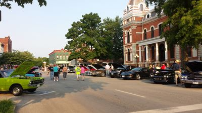 Pontiac Cruise Night - A Summer Staple