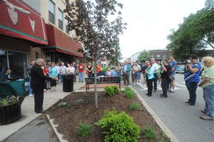 Dedication of Memorial Tree