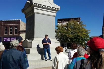 Robert Tells Local Civil War History