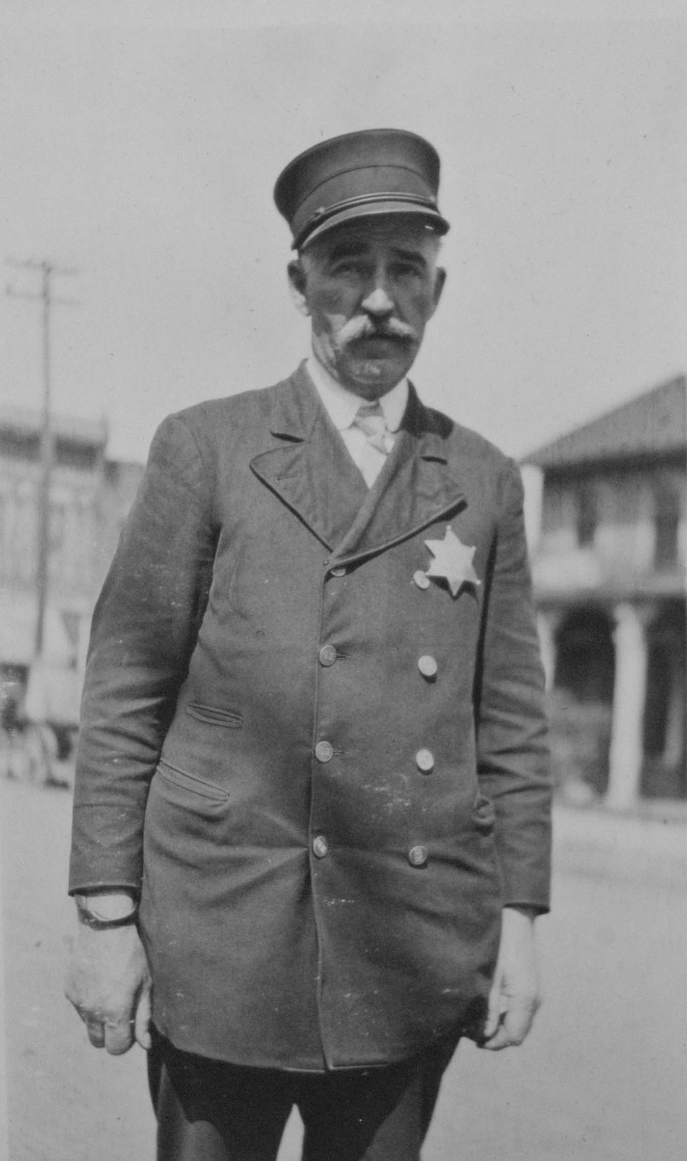 Police Chief Riggs - 1913