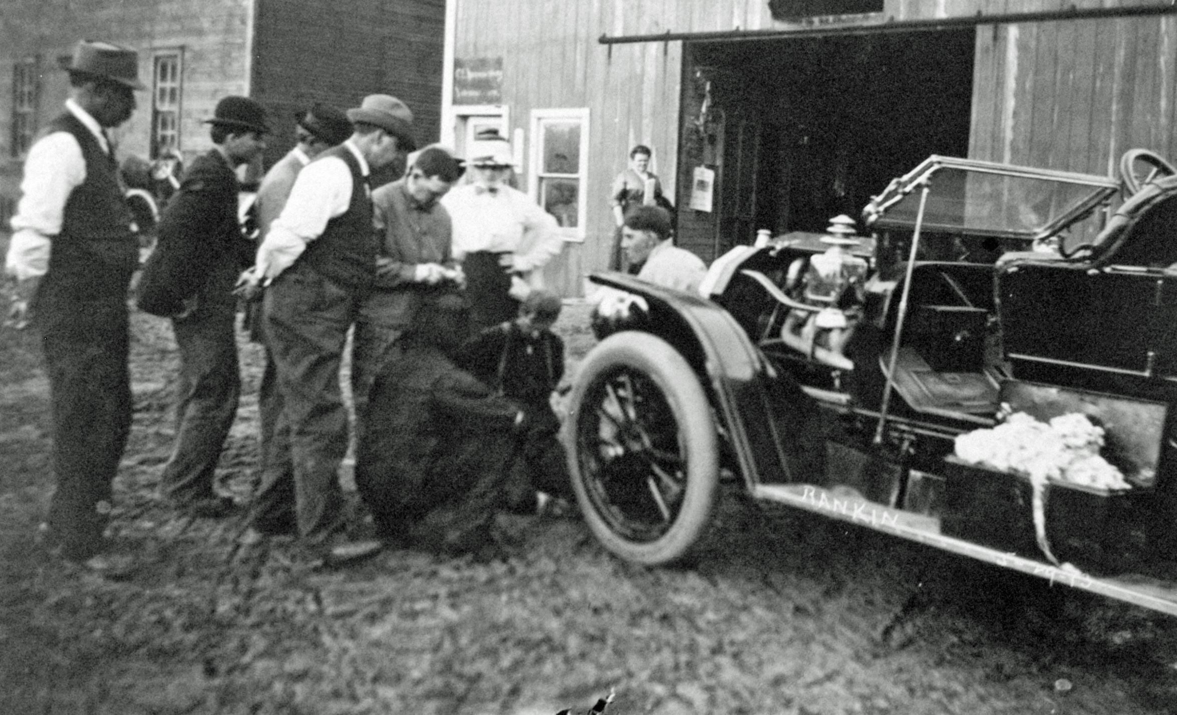Early Car Repairs