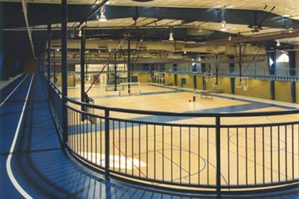 The Pontiac recreational gym.