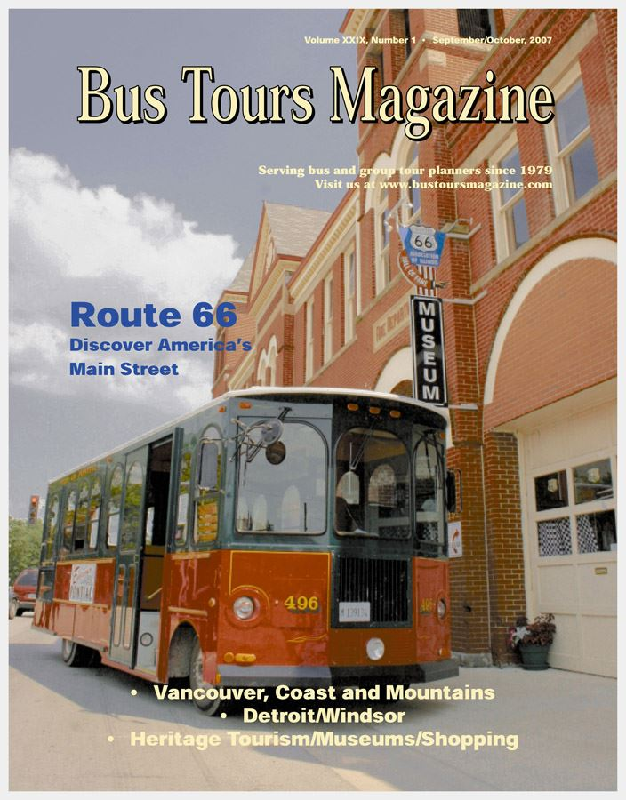 Pontiac Bus Tour Mag Cover