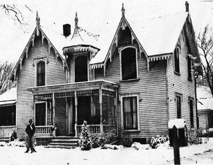 Early Photo of Strevell House