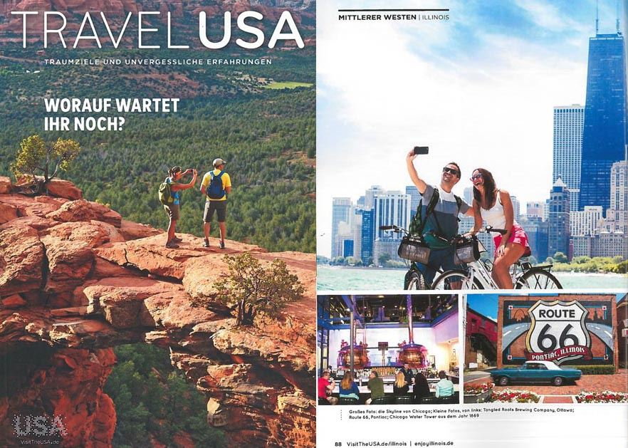Travel USA German Cover