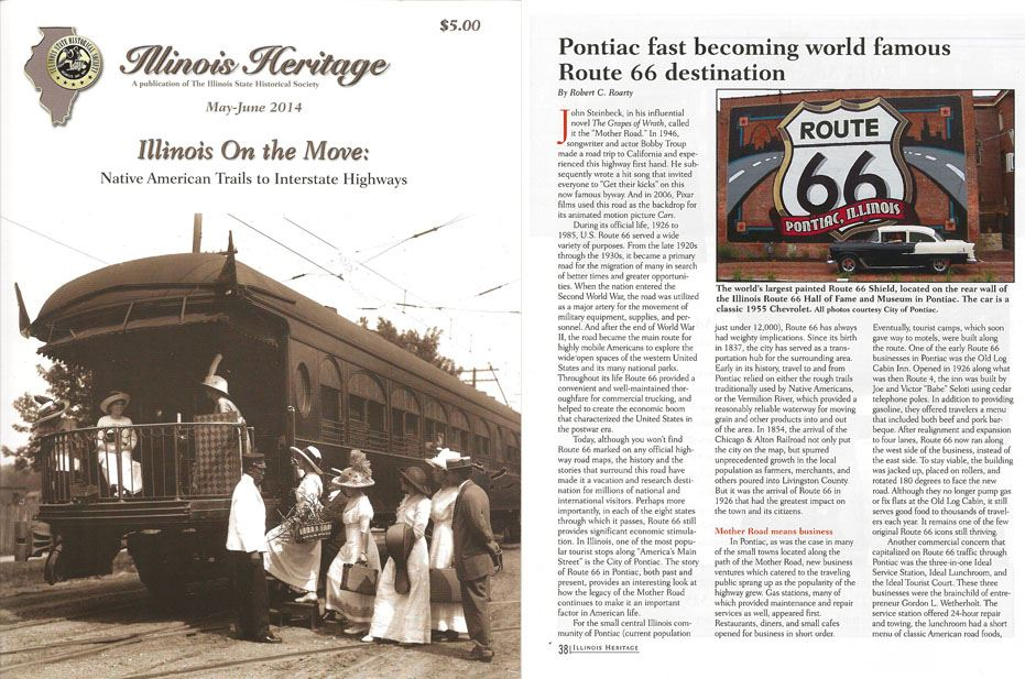 Illinois Heritage Magazine