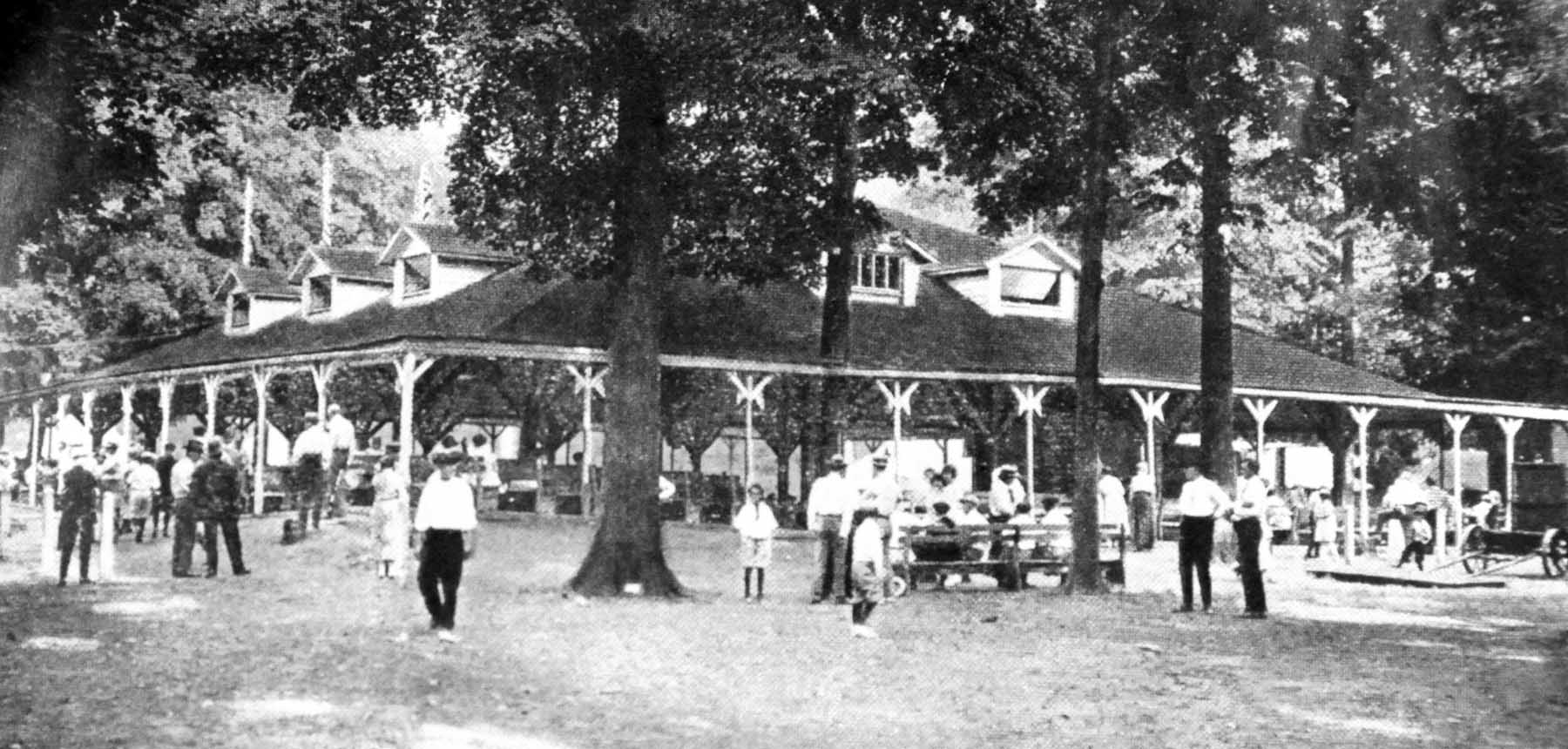 Early Photo of Pavilion