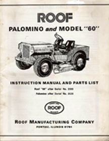 Roof Mower Manual